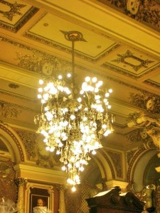 Eliseev Golden Chandelier