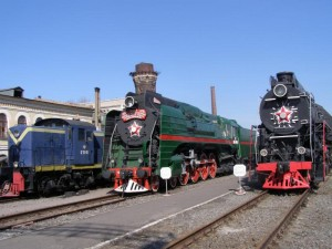 Railway (Puffing ) Museum in Saint Petersburg