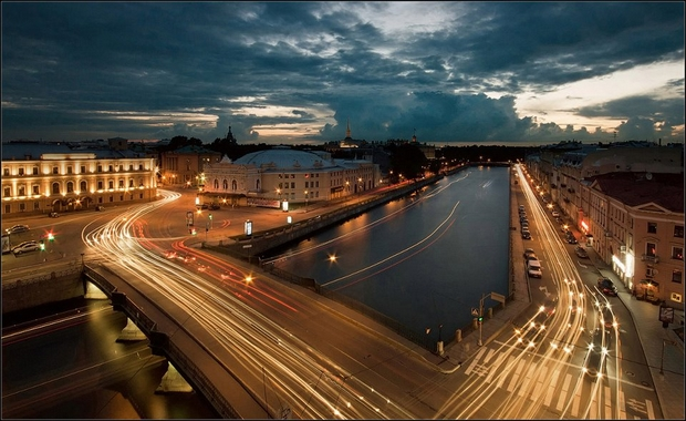 Saint Petersburg Rivers and Bridges  (96)