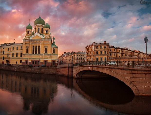Saint Petersburg Rivers and Bridges  (92)