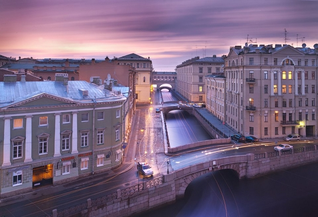 Saint Petersburg Rivers and Bridges (21)