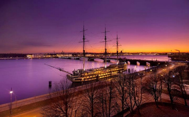 Saint Petersburg Rivers and Bridges  (80)