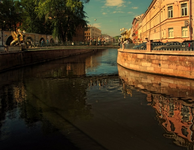 Saint Petersburg Rivers and Bridges  (75)
